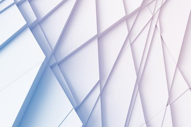 Fundo abstrato de linhas retas que dissecam a superfície em