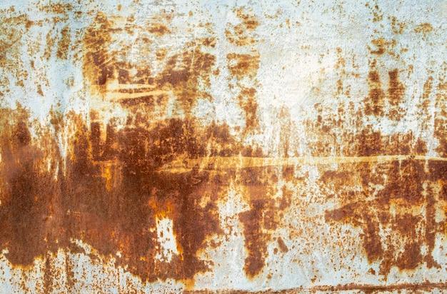 Fundo abstrato de metal enferrujado
