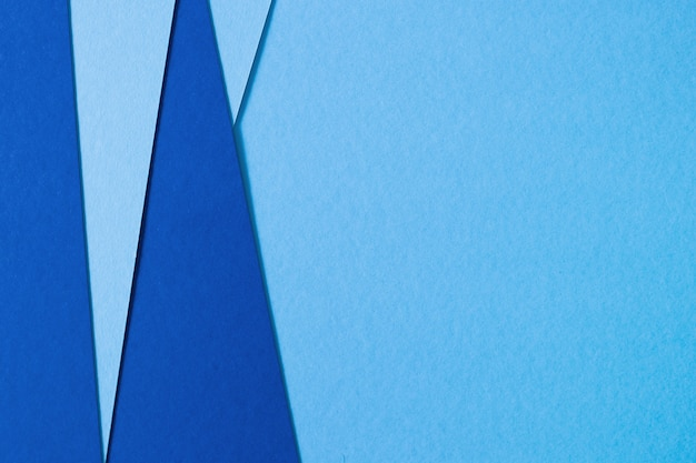 Fundo abstrato de papel de textura azul