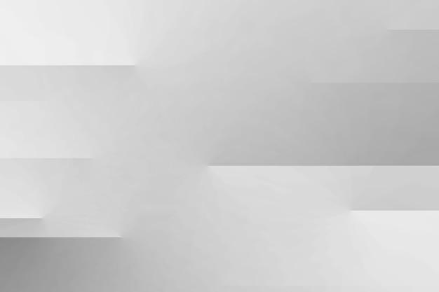 Fundo abstrato de papel dobrado branco Foto gratuita