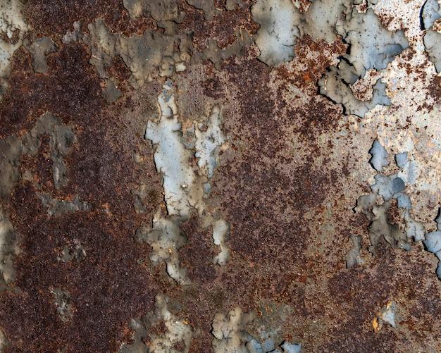 Fundo abstrato de superfície metálica
