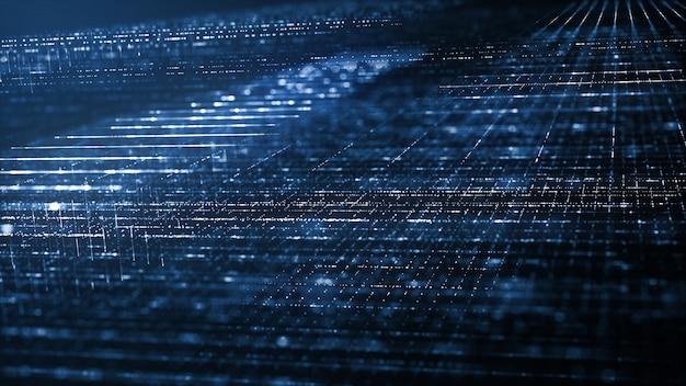 Fundo abstrato de tecnologia digital