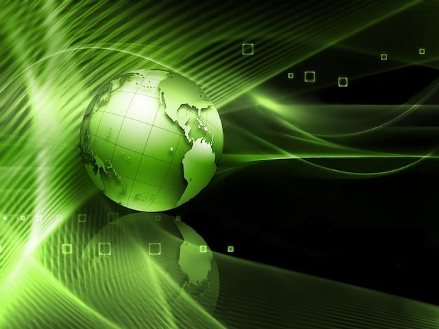 Fundo abstrato de tecnologia futurista para seus projetos