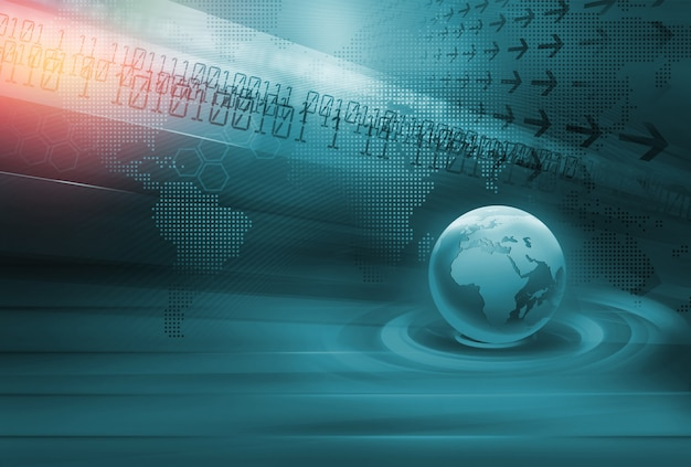 Fundo abstrato de tecnologia
