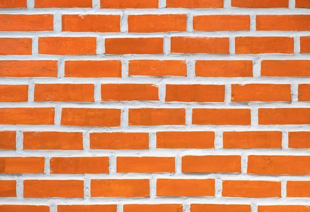 Fundo abstrato de textura de parede de tijolo laranja