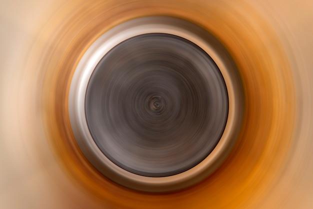 Fundo abstrato do borrão de movimento radial do círculo colorido da rotação.