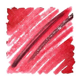 Fundo abstrato do doodle vermelho. espaço para seu próprio texto. ilustração raster
