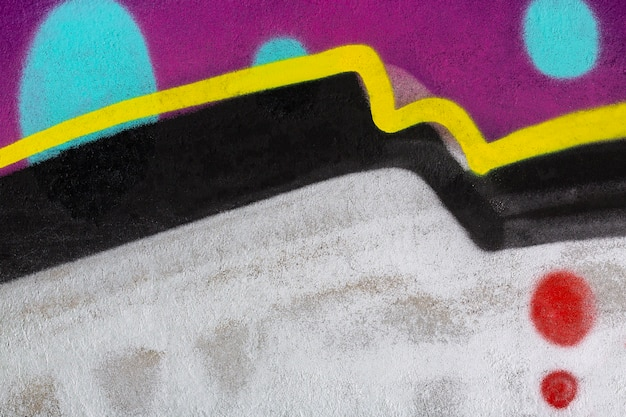 Fundo abstrato do grafite do mural