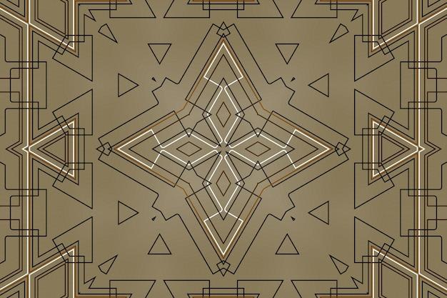 Fundo abstrato do mecanismo de tecnologia, elementos de tecnologia geométrica digital, formas lineares de peças de conexão