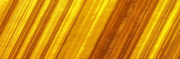 Fundo abstrato dourado com linhas diagonais