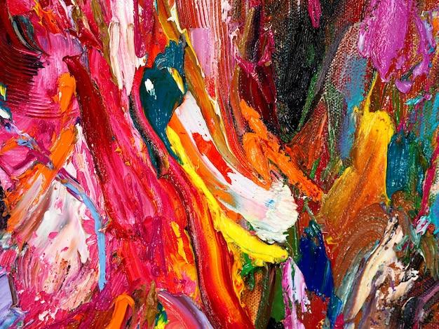 Fundo abstrato e arte colorida textured.