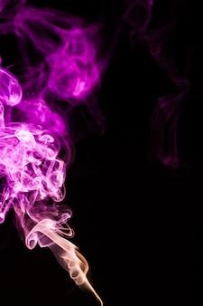 Fundo abstrato efeito de luz de fumaça