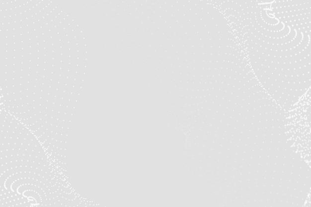 Fundo abstrato em estrutura de arame futurista cinza
