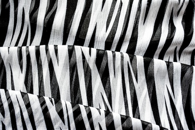 Fundo abstrato em listras preto e branco