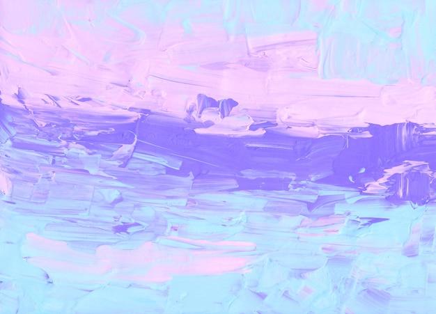 Fundo abstrato em rosa pastel, azul, roxo e branco