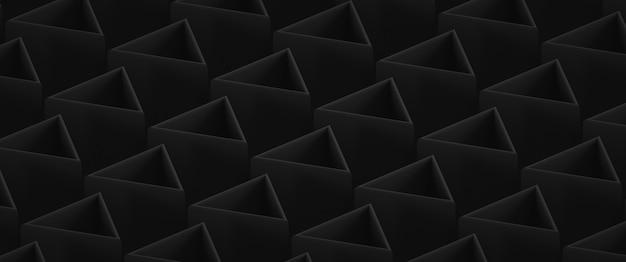 Fundo abstrato escuro de baixo contraste com elementos triangulares