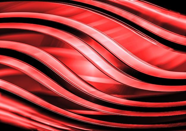 Fundo abstrato espiral de metal