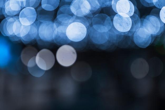 Fundo abstrato festivo com luz desfocado bokeh