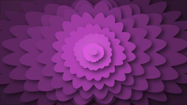 Fundo abstrato flor roxa.