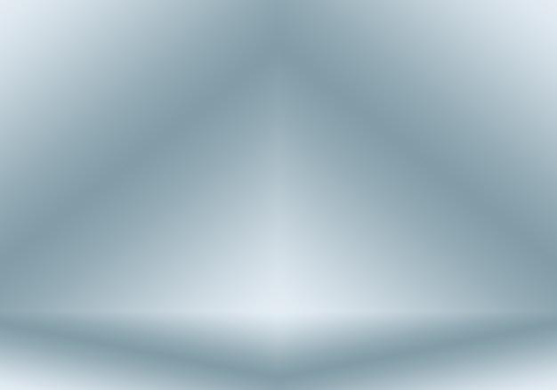 Fundo abstrato gradiente azul. azul escuro liso com vinheta preta studio.