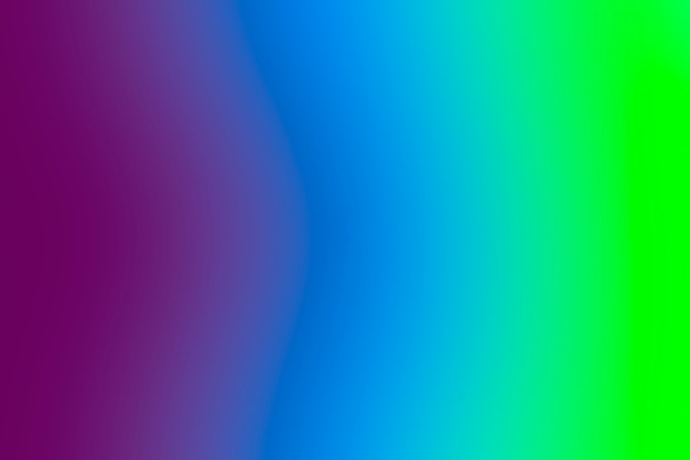 Fundo abstrato gradiente turva com cores primárias vivas