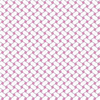 Fundo abstrato ilustrado sem costura do padrão rosa líquido