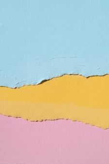 Fundo abstrato macio papel colorido