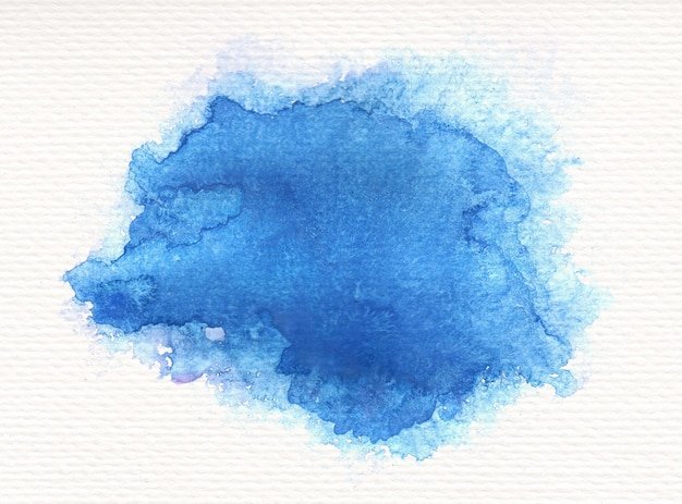 Fundo abstrato manchado de aquarela pintado à mão