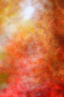Fundo abstrato no fundo do tomilho do outono.