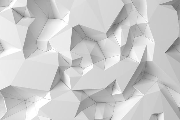 Fundo abstrato origami