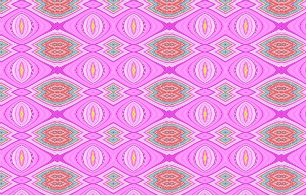 Fundo abstrato para texturas de superfície de papel de parede de design têxtil papel de embrulho tribal sem costura