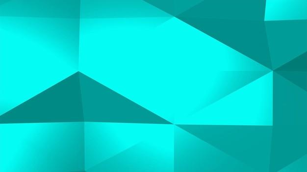 Fundo abstrato poli baixa verde, forma geométrica de triângulos