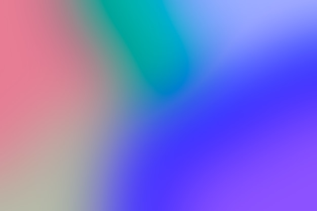 Fundo abstrato pop desfocado com cores primárias vivas