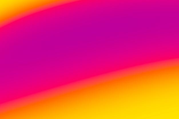 Fundo abstrato pop turva com cores quentes - roxo, laranja. rosa e amarelo