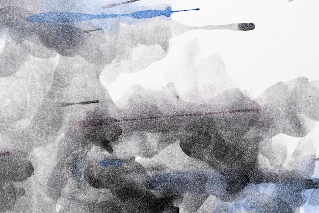 Fundo abstrato preto aquarela cópia espaço padrão