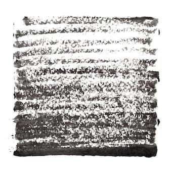Fundo abstrato preto com traços grossos - espaço para seu próprio texto - ilustração raster