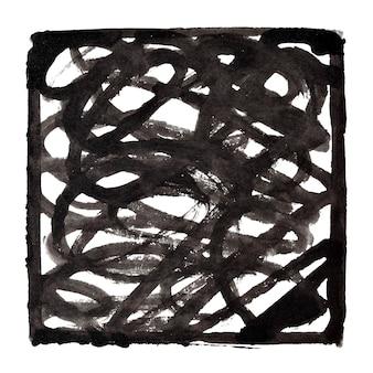 Fundo abstrato preto e branco com doodle. ilustração raster