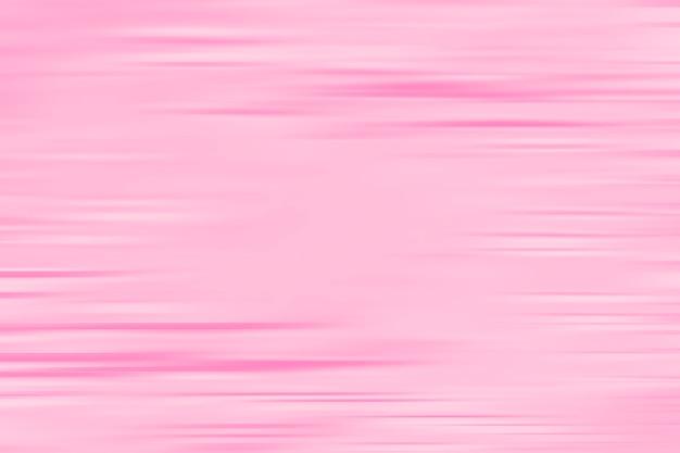 Fundo abstrato rosa com linhas de borrão de movimento horizontal. pano de fundo texturizado