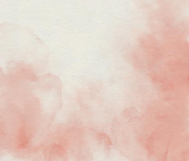 Fundo abstrato rosa suave de aquarela
