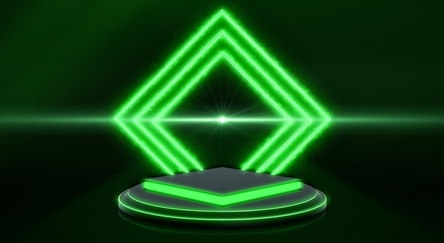 Fundo abstrato tecnologia 3d