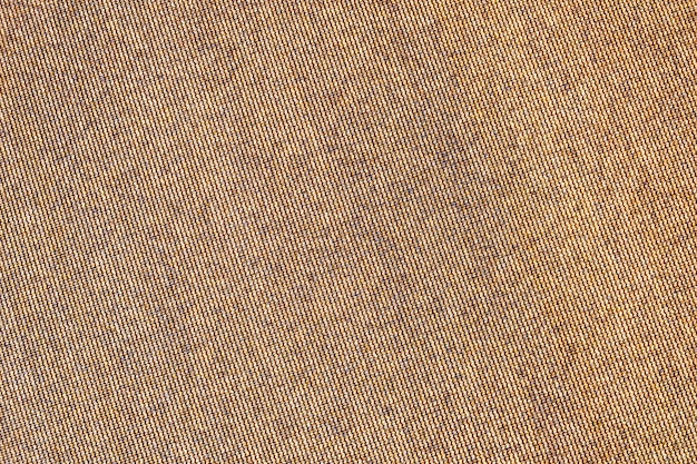 Fundo abstrato textura marrom. superfície da lona de pano de saco áspero