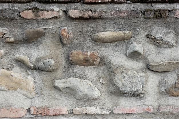 Fundo abstrato, uma parede de pedra