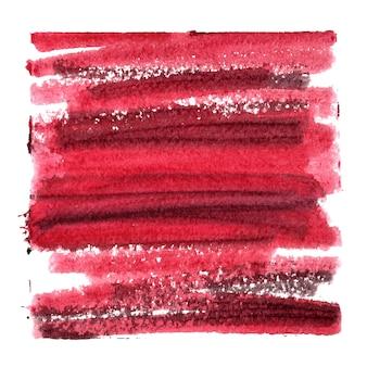 Fundo abstrato vermelho escuro com traços grossos - espaço para seu próprio texto - ilustração raster