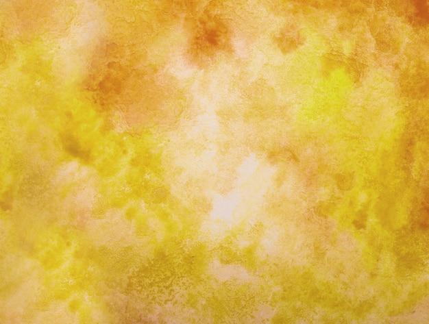 Fundo amarelo aquarela.