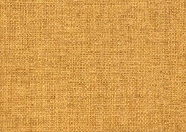 Fundo amarelo de tecido de um saco
