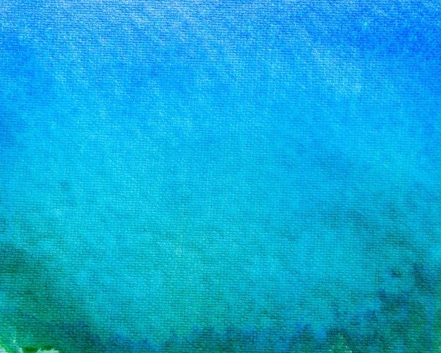 Fundo amarelo e verde azul da aguarela do inclinação.