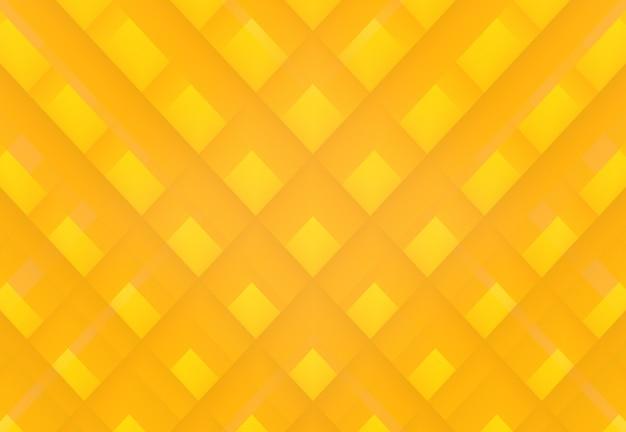 Fundo amarelo moderno da parede da arte da grade do quadrado da cor de tom da máscara.