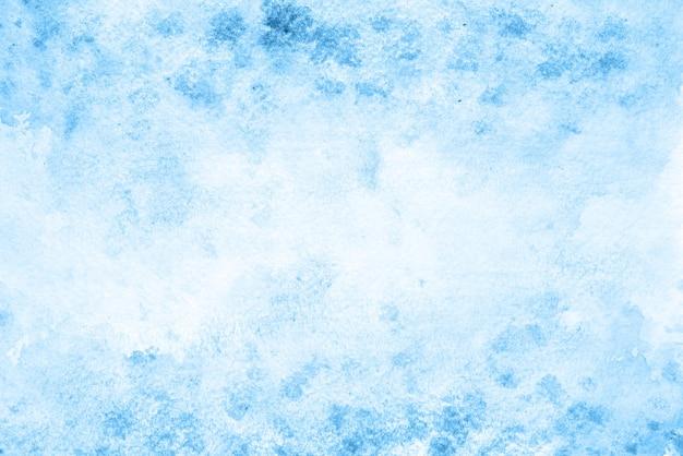 Fundo aquarela abstrato azul claro