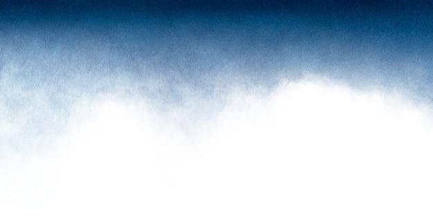 Fundo aquarela abstrato azul para texturas