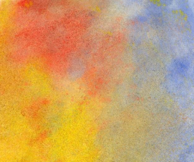 Fundo aquarela abstrato